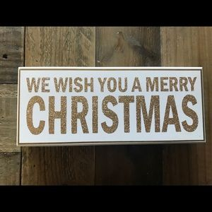 Accents - Christmas Sign